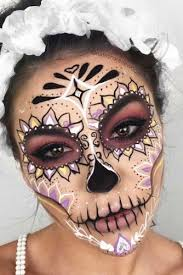 sugar skull mask makeup saubhaya makeup