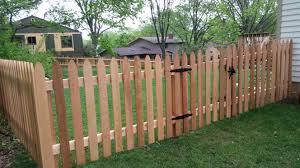 Wood Fencing Qual Line Fence