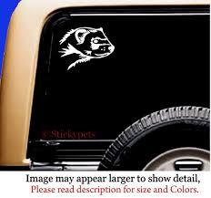 Ferret Head Vinyl Car Window Pet Vinyl Decal Sticker Original Etsy