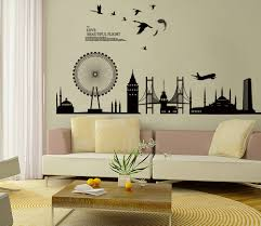 Wtsenates Enchanting Living Room Wall Decals In Collection 5314
