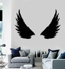 Vinyl Wall Decal Bird Feathers Wings Flight Wingspan Stickers Mural G201 Ebay