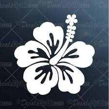 Lowest Prices On Hibiscus Flower Car Decals