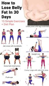 workouts to lose lower stomach fat لم