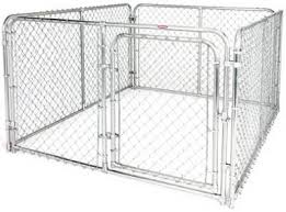Fencemaster Silver Series 6 X 8 X 4 Dog Kennel System Rust Resistant Galvan Tv788403