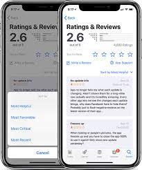 iOS 11.3 Finally Allows Sorting of App Store Reviews - MacRumors