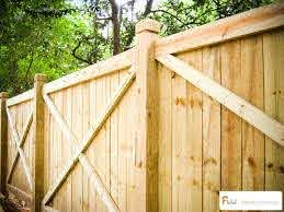The College X Framed Wood Privacy Fence Pictures Per Foot Pricing Wood Privacy Fence Fence Styles Good Neighbor Fence