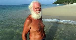 Bir zamanların milyoneri şimdi tropikal bir adada yalnız başına ...
