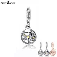 925 sterling silver charm bead family