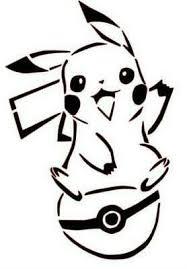 Pokemon Happy Pikachu On Pokeball Vinyl Decal For Car Home Children S Room Yeti Ebay