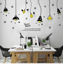 Ceiling Lamp Vinyl Home Room Decor Wall Decal Sticker Bedroom Removable Mural Ebay