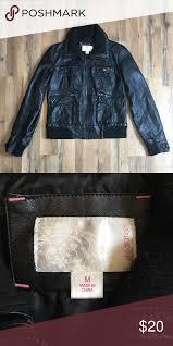xhilaration leather jacket excellent