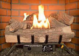 vented gas logs heater or decorative