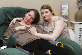 Daughter fears disabled mother will lose her lifeline carers ...