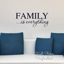 mega deal family is everything quote wall sticker family