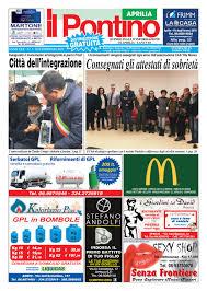 IL PONTINO APRILIA - Anno XXX - N. 3 - 8/22 Febbraio 2019 by Il ...