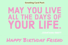 happy birthday friend messages to bring a smile greeting card poet