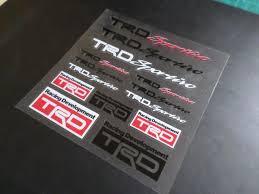 Racing Development Trd Sportivo Jdm Supra 86 F1 Ae86 Car Interior Wind New Idea Stickers