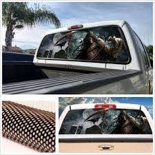 22 X65 Large Tint Eye Catching Sticker Rear Window Graphic Decal For Truck Suv For Sale Online