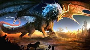 free fantasy dragon wallpaper at s