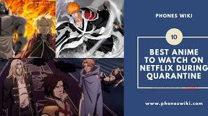 10 Best Anime To Watch On Netflix During Quarantine - PhonesWiki