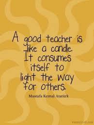 nice teacher inspirational quotes
