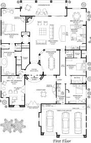 floorplan hallway from garage with