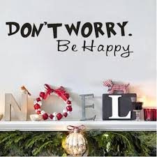 Dont Worry Be Happy Wall Decal Ondecal