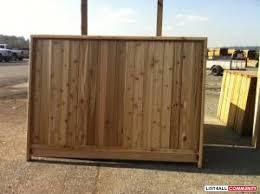 Cedar Fence Panels Sale Targetcedar99 List4all
