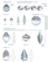 replacement crystal chandelier parts