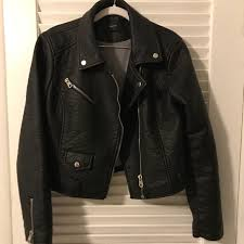 womens pacsun leather jacket