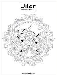 Amazon Com Uilen Kleurboek Voor Volwassenen 1 2 3 Dutch