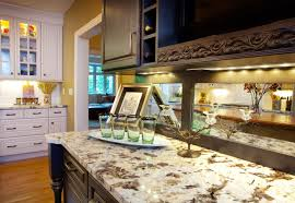 black bar with granite counter tops