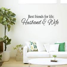 Buy Best Friends For Life Husband And Wife Quotes Wall Decal In Cheap Price On Alibaba Com