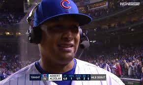 Congratulations to Adbert Alzolay who earned the W in his Major League  debut tonight against the Mets! : CHICubs