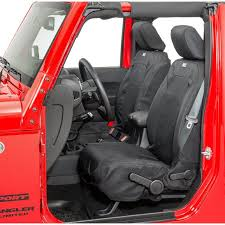 heated ballistic front seat covers
