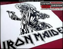 Iron Maiden Killers Album Eddie Text Logo Vinyl Decal Sticker Car Truck Window Ebay