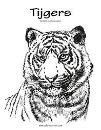 Tijgers Kleurboek Voor Volwassenen 1