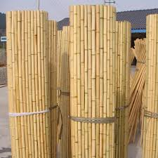 Natural Yellow Rolled Bamboo Fence Screens Buy Cheap Bamboo Fencing Cheap Natural Bamboo Fencing Roll Fence Privacy Screen Product On Alibaba Com