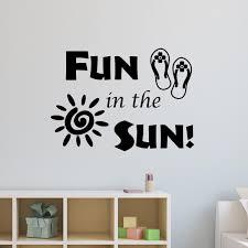Vwaq Fun In The Sun Wall Decal