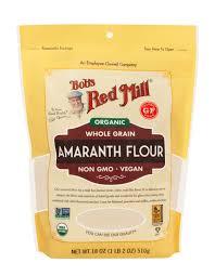 organic amaranth flour bob s red mill