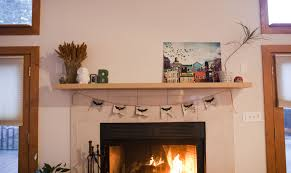 diy fireplace mantel shelf floating