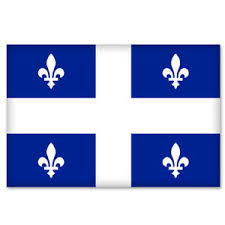 Quebec Canada Flag Bumper Sticker Decal 5 X 3 Ebay