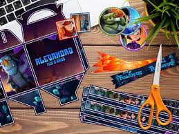 Kit Imprimible Trollhunters Personalizado Cumpleanos Candy B