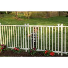 Zippity Outdoor Products 3 Ft H X 3 5 Ft W Baskenridge No Dig Vinyl Garden Picket Fence Panel Kit 2 Pack In 2020 Vinyl Fence Panels Picket Fence Panels Vinyl Fence