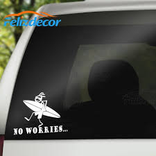15cm Wide Surfer Car Decal Surfing Car Sticker Vinyl Surfer Auto Decor Summer Car Decals Beach Stickers Art Decorative Cool L662 Shop The Nation
