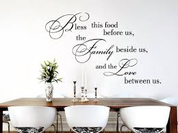 Bless This Food Wall Decal Dining Room Signs Decal Kitchen Etsy
