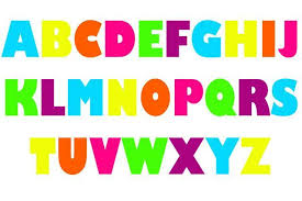 Brightly Colored Alphabet Letter Wall Decals