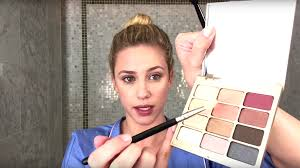 lili reinhart films everyday makeup