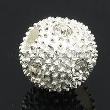 whole alloy rhinestone beads round