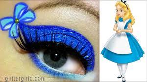 alice in wonderland makeup tutorial